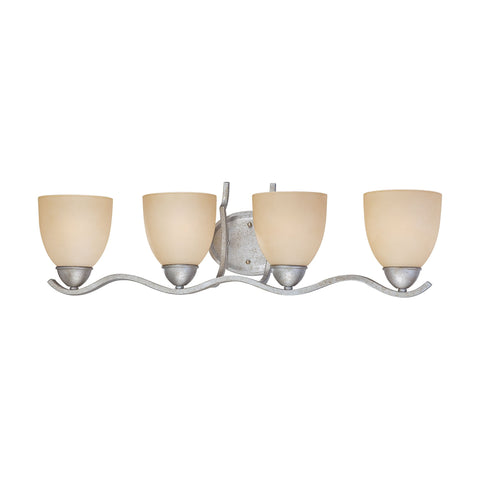 Thomas Lighting SL717472 Triton Collection Moonlight Silver Finish Traditional Wall Sconce