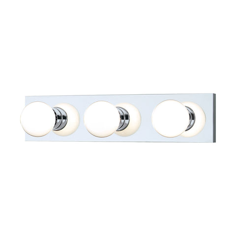 Thomas Lighting SL74134 Vanity Strips Collection Chrome Finish Transitional Wall Sconce