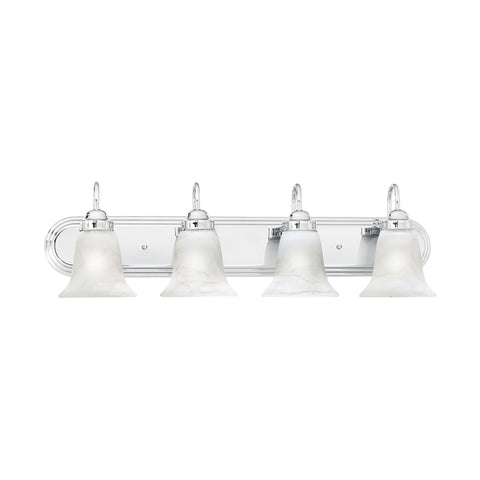 Thomas Lighting SL75844 Homestead Collection Chrome Finish Transitional Wall Sconce