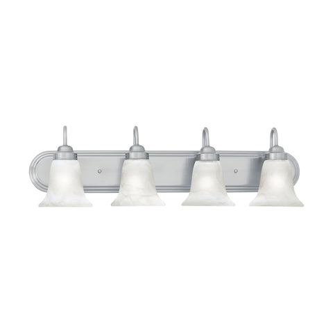 Thomas Lighting SL758478 Homestead Collection Brushed Nickel Finish Transitional Wall Sconce