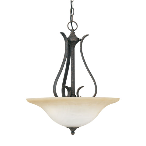 Thomas Lighting SL829222 Prestige Collection Sable Bronze Finish Transitional Pendant