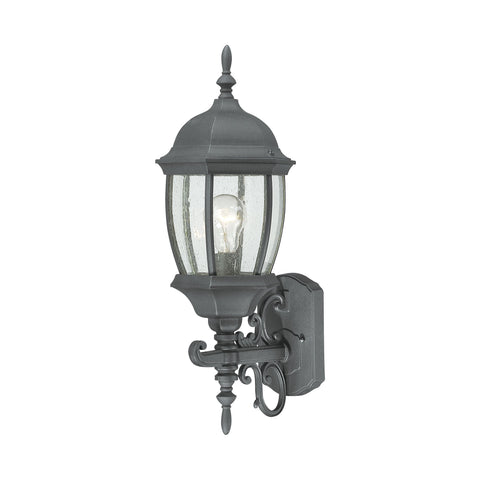 Thomas Lighting SL92257 Covington Collection Black Finish Traditional Wall Sconce