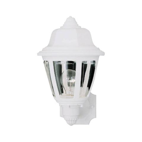Thomas Lighting SL94408 Essentials Collection Matte White Finish Traditional Wall Sconce