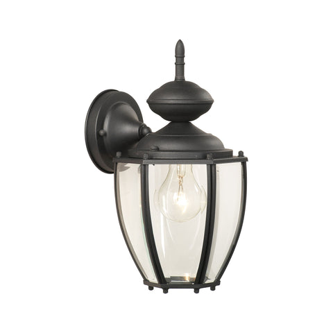 Thomas Lighting SL94707 Park Avenue Collection Black Finish Traditional Wall Sconce