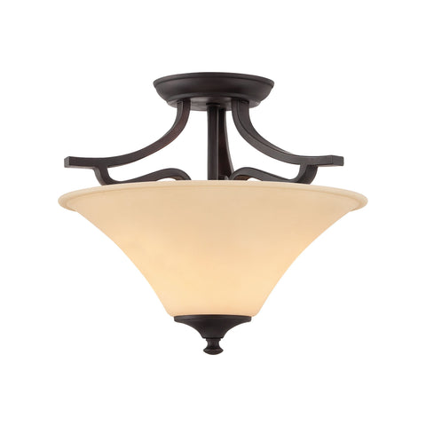 Thomas Lighting TC0020704 Treme Collection Espresso Finish Traditional Flush