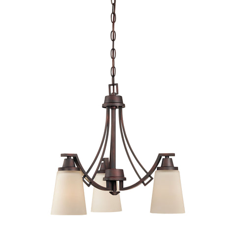 Thomas Lighting TK0009704 Wright Collection Espresso Finish Traditional Chandelier