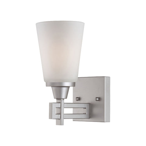 Thomas Lighting TN0007117 Wright Collection Matte Nickel Finish Traditional Wall Sconce