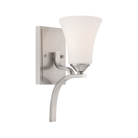Thomas Lighting TN0010217 Treme Collection Brushed Nickel Finish Traditional Wall Sconce