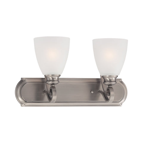 Thomas Lighting TV0015741 Haven Collection Satin Pewter Finish Traditional Wall Sconce