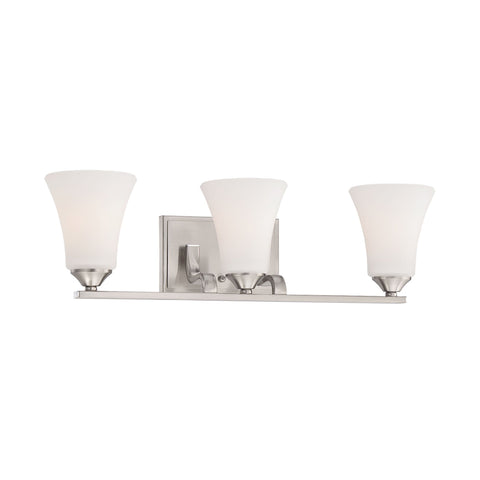 Thomas Lighting TV0020217 Treme Collection Brushed Nickel Finish Traditional Wall Sconce
