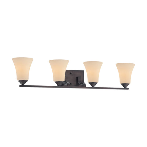 Thomas Lighting TV0021704 Treme Collection Espresso Finish Traditional Wall Sconce