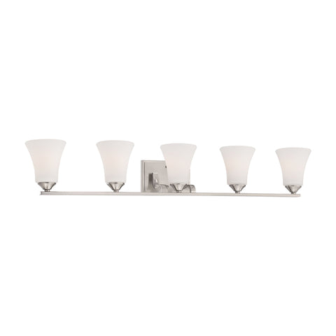 Thomas Lighting TV0022217 Treme Collection Brushed Nickel Finish Traditional Wall Sconce