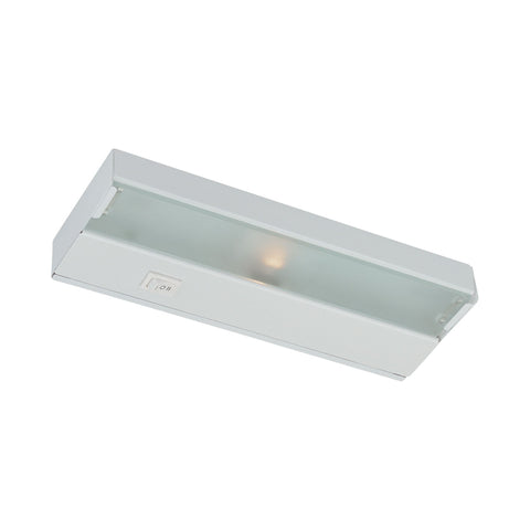 Thomas Lighting UCX2008 Fluor Collection Matte White Finish Transitional Under Cabinet