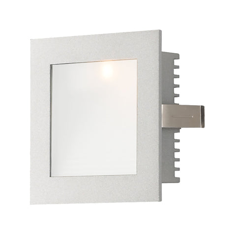 Alico WLE-101 Steplight LED Collection Opal,Grey Finish Steplight