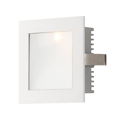 Alico WLE-101W Steplight LED Collection Opal,White Finish Steplight