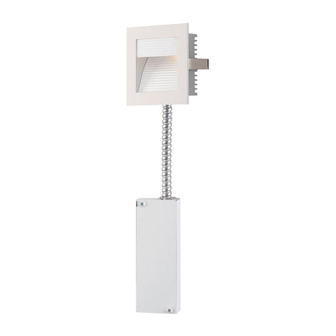 Alico WLE-102W-RM Steplight LED Collection White Finish Steplight