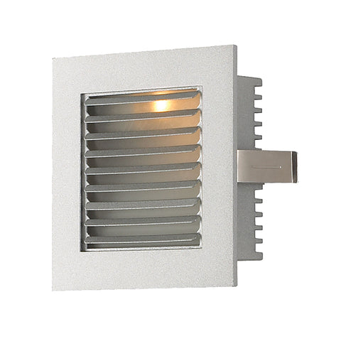 Alico WLE-104 Steplight LED Collection Grey Finish Steplight