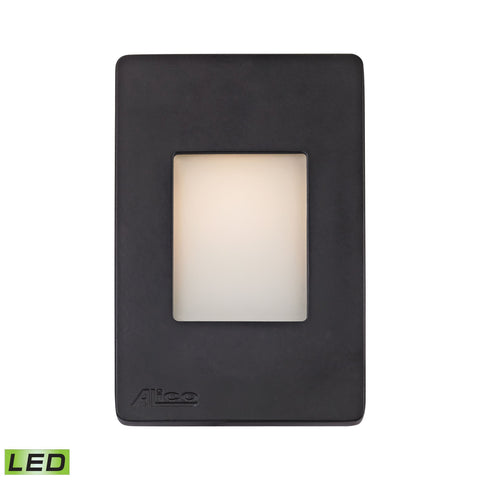 Alico WLE1105C30K-10-31 Beacon Collection Black Finish Steplight