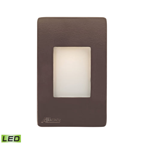 Alico WLE1105C30K-10-45 Beacon Collection Brown Finish Steplight