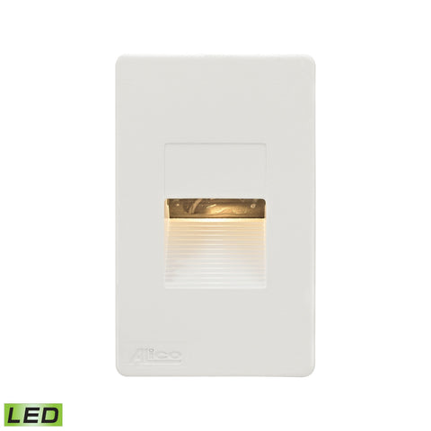 Alico WLE1106C30K-10-30 Aperture Collection White Finish Steplight