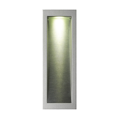 Alico WLE127C32K-N-95 Scoop Collection Metallic Grey Finish Steplight
