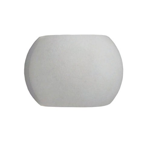 Alico WSL501-140-30 Castle Sphere Collection Natural Concrete Finish Wall Sconce