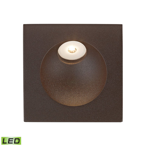 Alico WSL6210-10-45 Zone Collection Matte Brown Finish Steplight
