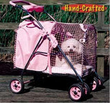 Kittywalk Fifth Ave Pink Pet Stroller SUV (KWPS PINK SUV) - Peazz.com - 2