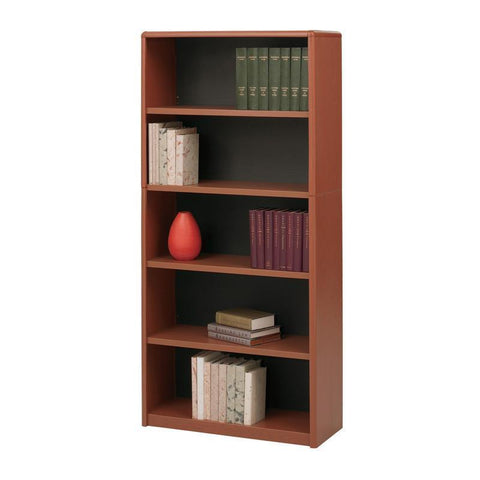 Safco 7173CY 5-Shelf ValueMate® Economy Bookcase - Peazz Furniture