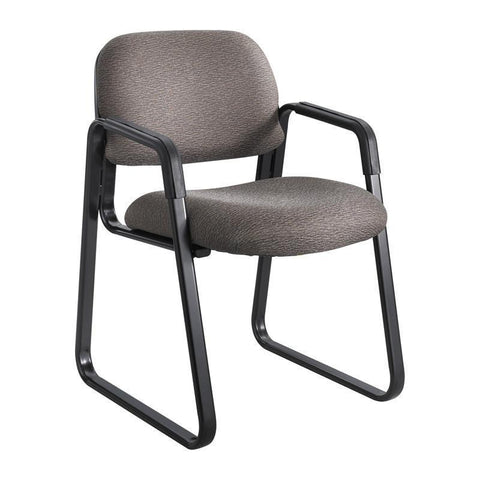 Safco 7047BR Cava® Urth™ Sled Base Guest Chair - Peazz Furniture