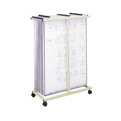 Safco 5059 Mobile Vertical File - Peazz Furniture