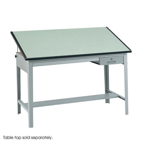 Safco 3962GR Precision Drafting Table Base - Peazz Furniture