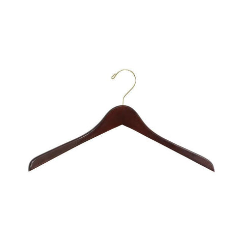 Safco 4250WL Deluxe Contoured Coat Hangers (6 Cartons of 8 Each) - Peazz Furniture
