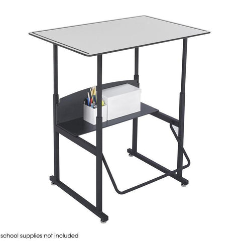 Safco 1208GR AlphaBetter® Desk, 36 x 24 Premium Top, Without Book Box - Peazz Furniture