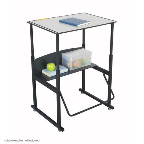 Safco 1203GR AlphaBetter® Desk, 28 x 20 Premium Top Without Book Box - Peazz Furniture