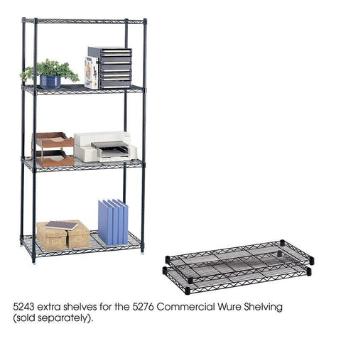 "Safco 5243BL Commercial Extra Shelf Pack, 36 x 18"" - Peazz Furniture"