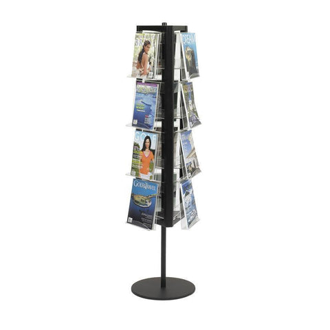 Safco 4113BL In-View™ Rotary Literature Display - Peazz Furniture