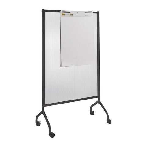 Safco 8510BL Impromptu® Full Polycarbonate Screen, 42 x 72 - Peazz Furniture