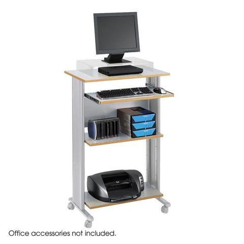 Safco 1923GR Muv™ Stand-up Workstation - Peazz Furniture