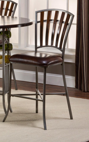 Hillsdale 5006-822 Sarasota Non-Swivel Counter Stools - Set of 2 - Peazz Furniture