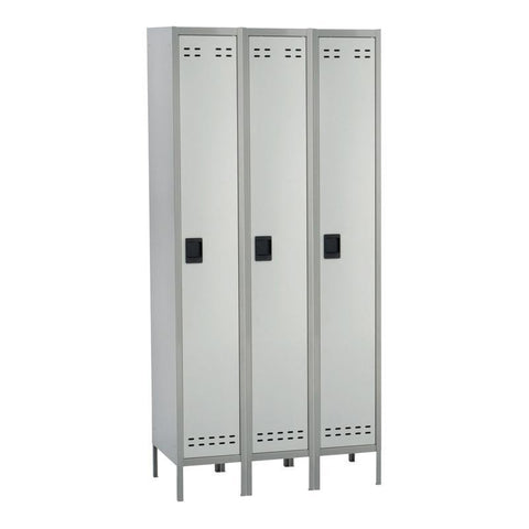 Safco 5525GR Single Tier Locker 3 Column - Peazz Furniture