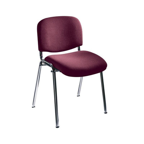 Safco 7400BG Visit Upholstered Stacking Chairs (Qty.2) - Peazz Furniture