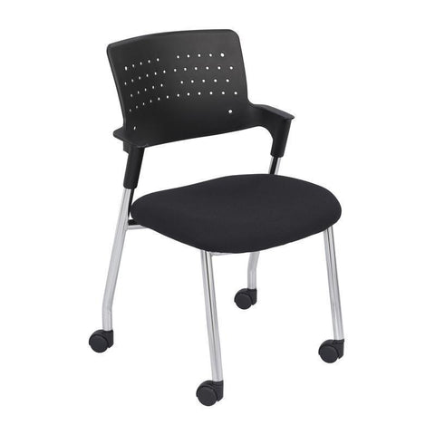Safco 4013BL Spry™ Guest Chair Black (2E) - Peazz Furniture