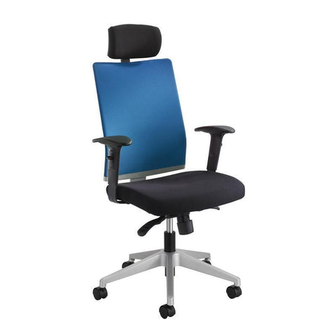 Safco 7030CO Tez™ Manager Chair with Headrest - Peazz Furniture