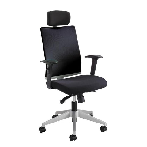 Safco 7030BL Tez™ Manager Chair with Headrest - Peazz Furniture
