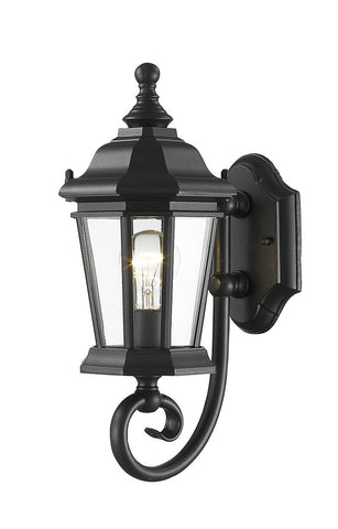 Z-Lite 540S-BK 1 Light Outdoor Wall Light - ZLiteStore