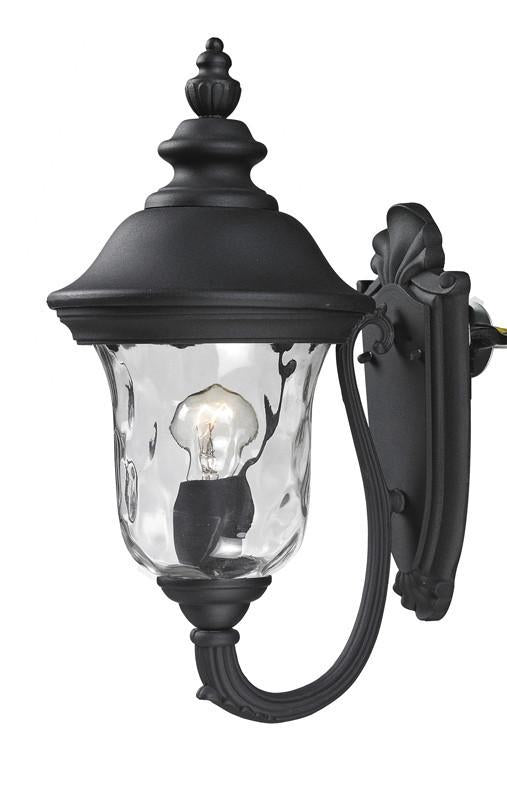 Z-Lite 533s-bk Armstrong Collection Outdoor Wall Light