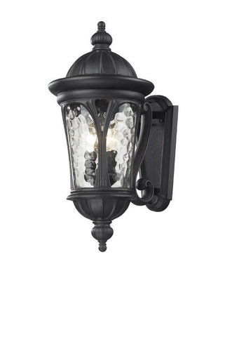 Z-Lite 543m-bk Doma Collection 3 Light Outdoor Light - ZLiteStore