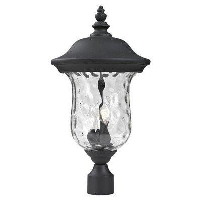 Z-Lite 533phb-bk Armstrong Collection Outdoor Post Light - ZLiteStore