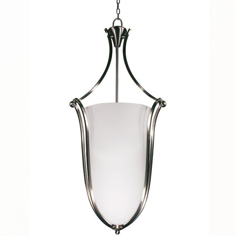 Z-Lite Carlisle Collection Brushed Nickel Finish Six Light Foyer Pendant - ZLiteStore